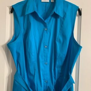 New York and company women's buttoned dress XL